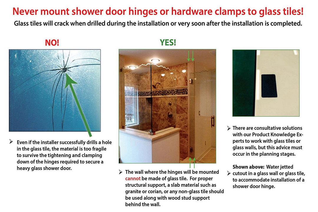 Creative Mirror Shower