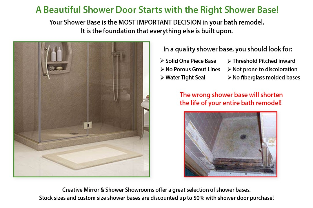 Select the Right Shower Base