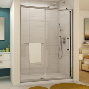 Fleurco Sorrento Inline Sliding Shower Door