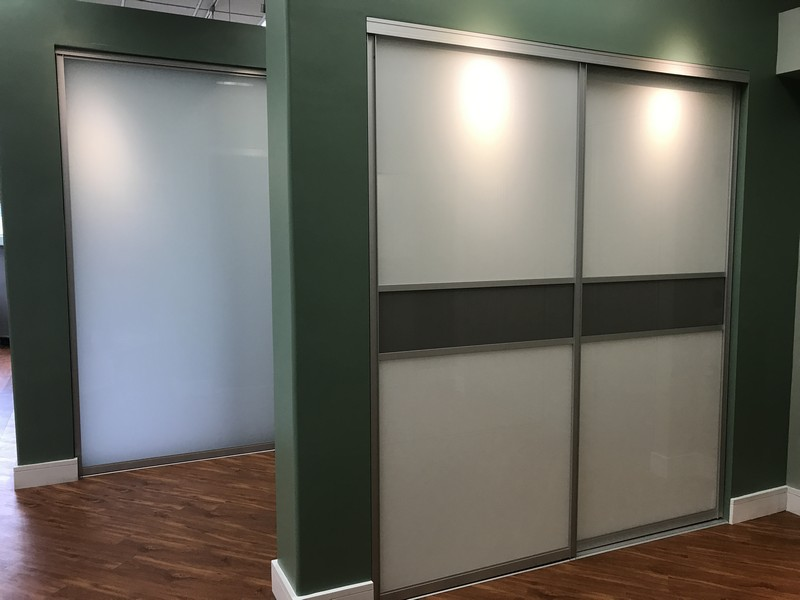 Raumplus German-Engineered Sliding Glass Closet Doors, Room Dividers, and Barn Doors