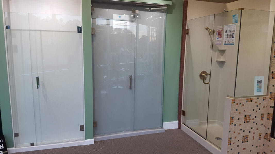 So many different styles of Custom Shower Doors to help plan your next bath remodel
