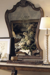 Antique Mirror imported from Europe