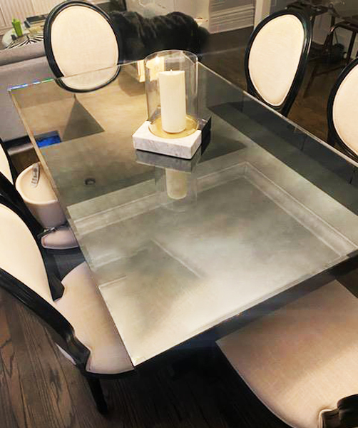Chicago Glass Tabletops, Shelving and Standoffs