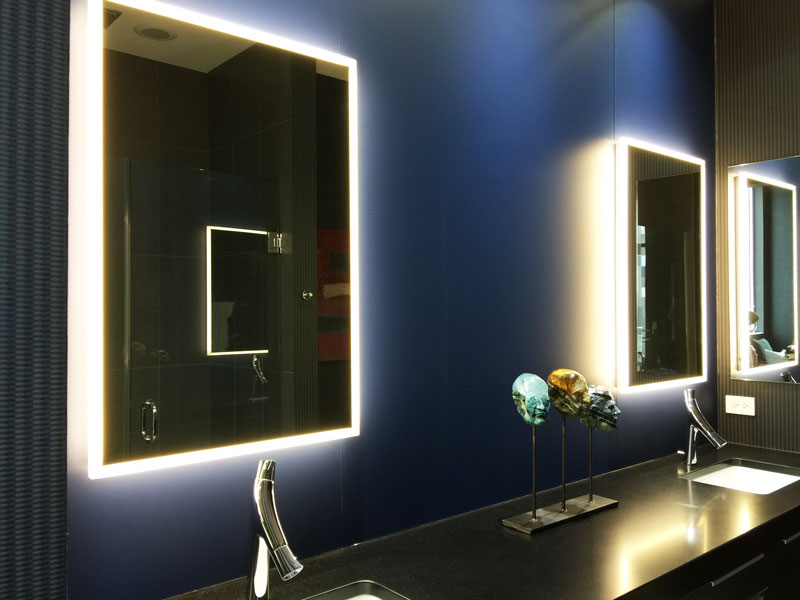 Lighted Mirrors Creative Mirror Amp Shower