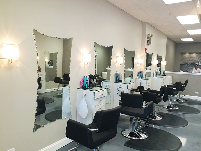 Chicago Beauty Salon Glass and Mirrors
