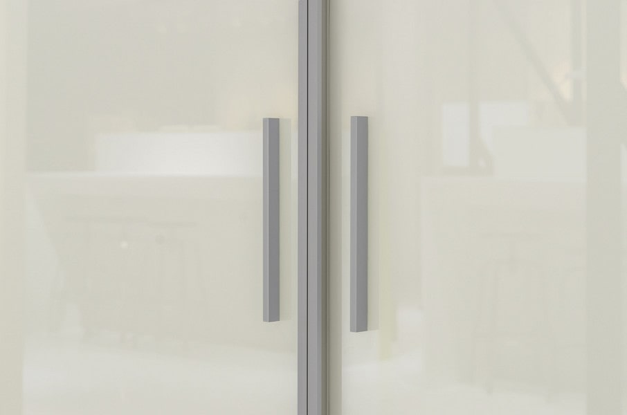 Chicago Glass Sliding Bifold and Swing Door Raumplus Closet Systems