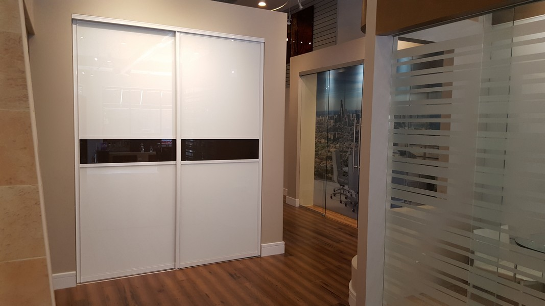 Raumplus German-Engineered Sliding Glass Closet Doors, Room Dividers,<br class='hide-for-medium'/> and Barn Doors