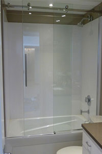 SERENITY Sliding Door for Tub Height