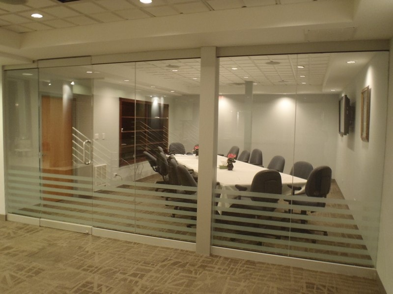 Interior Glass Wall Room Divider