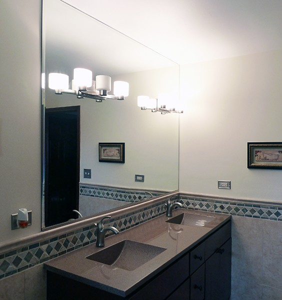 Custom Bathroom Mirrors