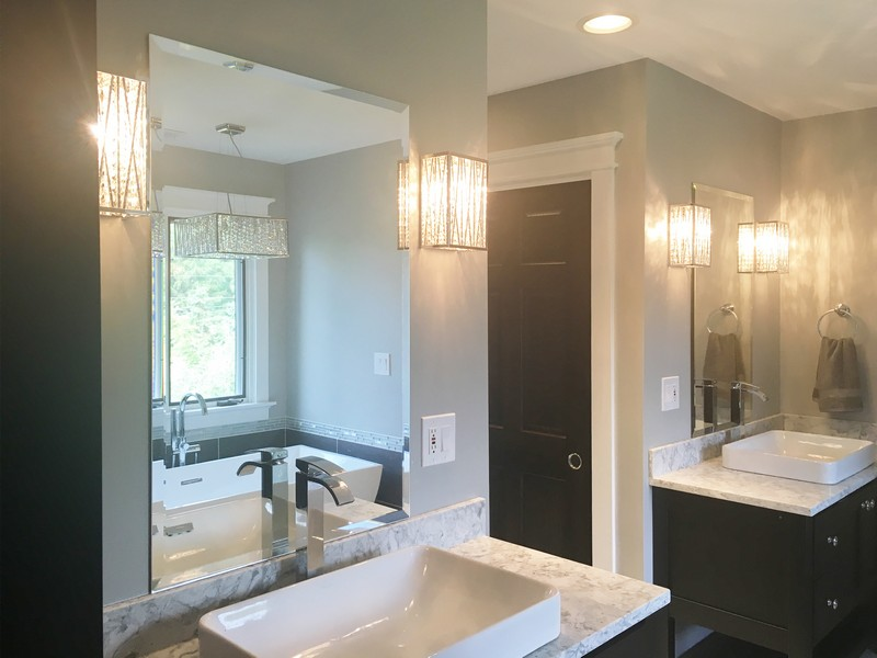 custom bathroom mirrors framed custom bathroom mirrors creative mirror amp shower 18021