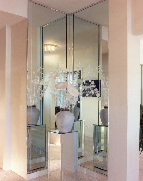 Chicago Glass Custom Entryway Mirrors