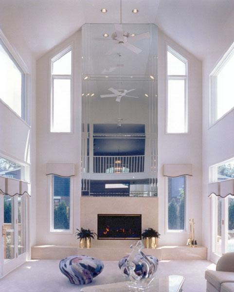 Custom Fireplace Mirrors Creative Mirror Shower