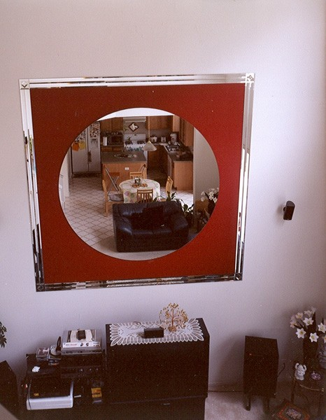 Chicago Glass Custom Living Room Mirrors