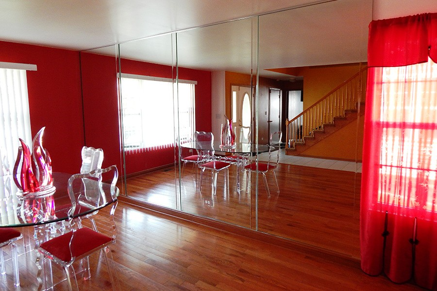 Chicago Glass Custom Dining Room Mirrors