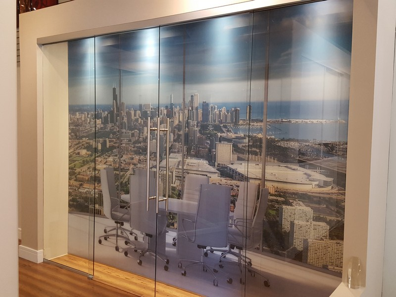 Chicago Digital Pictures Printed on Glass