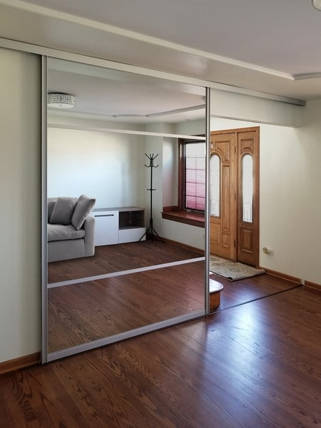 Single Barn Doors Creative Mirror Amp Shower