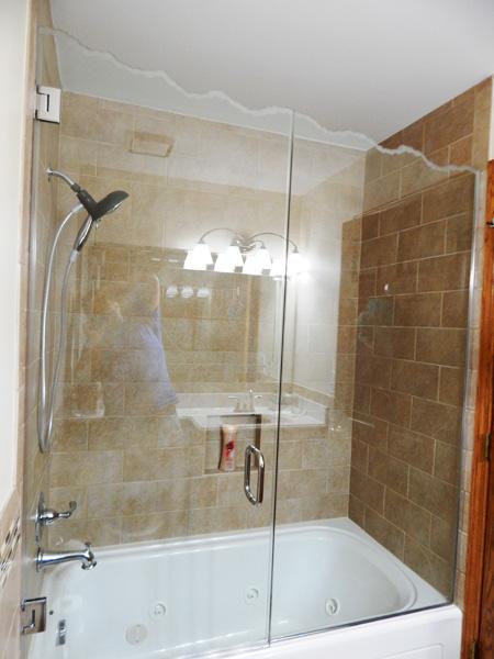 sculpted & decorative shower doors | creative mirror & shower