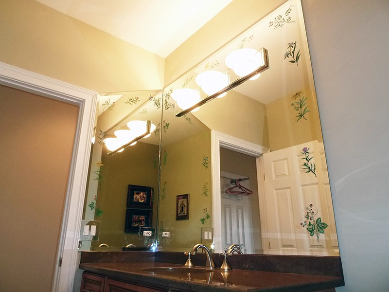 Chicago Glass Etched Custom Mirrors