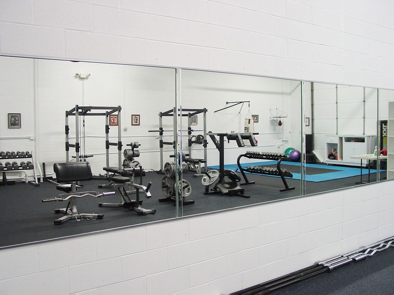 Chicago Glass Custom Exercise Room Mirrors