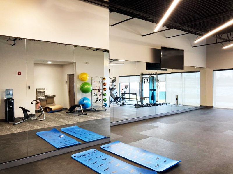 Custom Home Gym Mirrors Creative, Best Mirror For Home Gym