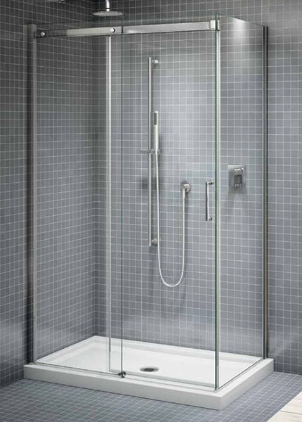 Apollo Frameless Sliding Panels Creative Mirror Amp Shower