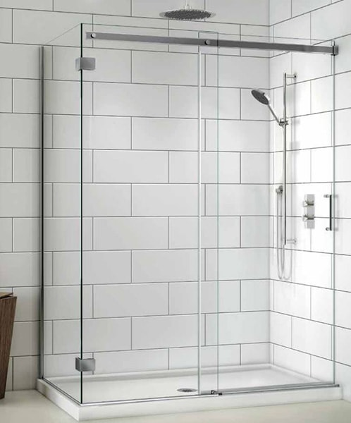 View Larger Image · Fleurco Apollo Sliding Shower Doors & Apollo Frameless Sliding Panels | Creative Mirror u0026 Shower