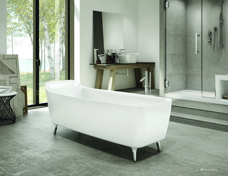 Chicago Fleurco Aria Freestanding Tubs