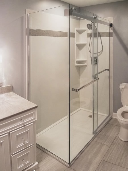 Chicago Glass Fleurco Gemini Bypass Sliding Shower Doors