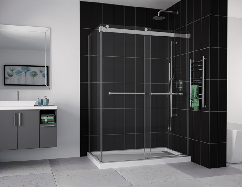 Gemini Bypass Shower Doors Creative Mirror Amp Showers
