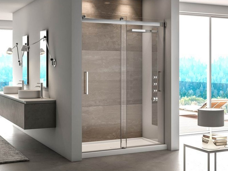 Fleurco Mercury Bypass Sliding Shower Doors