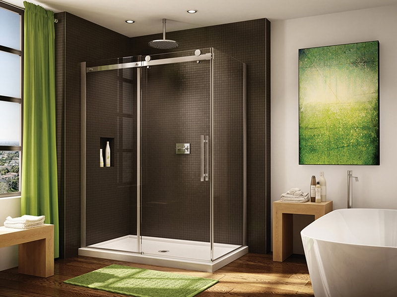 Fleurco Novara Sliding Shower Doors