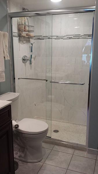 Creative Bypass Shower Doors Creative Mirror Shower
