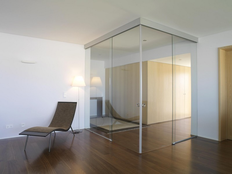 Chicago Glass Sliding Corner Doors and Room Dividers