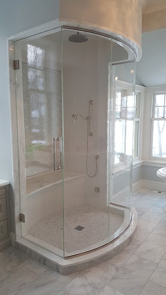 Curved Or Bent Glass Creative Mirror Amp Shower