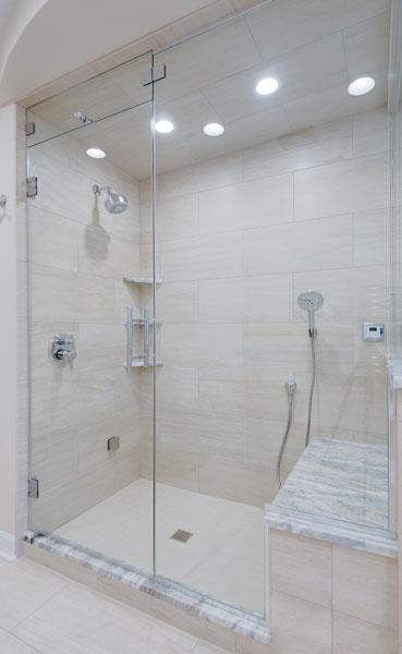 Door Amp Inline Panel Creative Mirror Amp Shower
