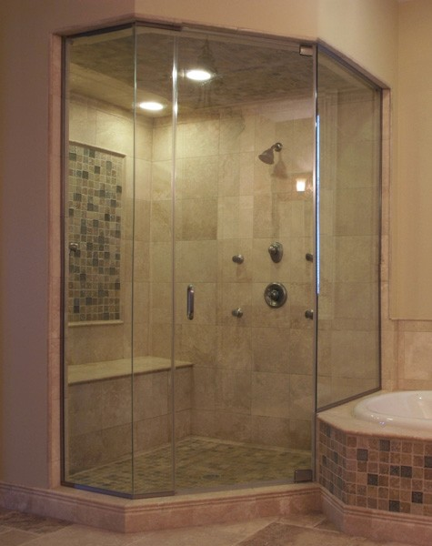 Neo Angle | Creative Mirror & Shower