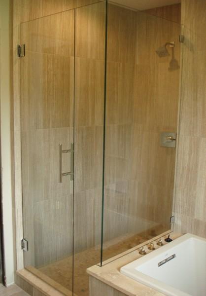 Custom Multi-Panel   Creative Mirror & Shower