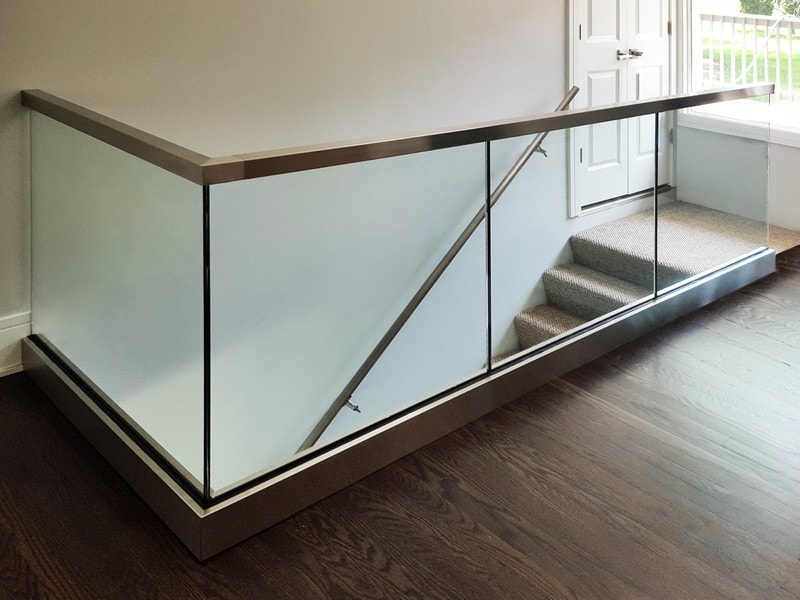 Image result for Glass Railing Installation?