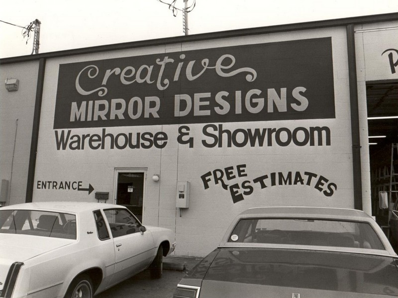 1984 - Creative Mirror Designs Warehouse & Showroom