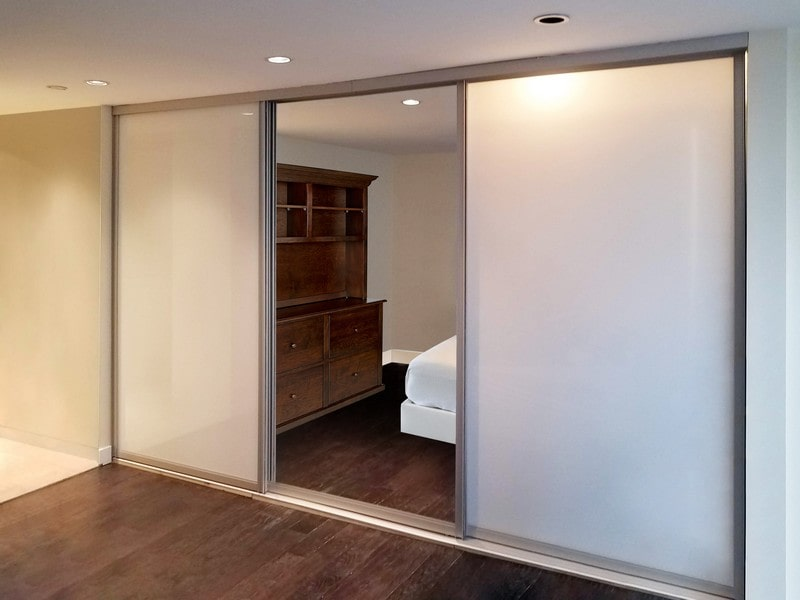View Larger Image Chicago Gl Sliding Mirrored Closet Doors
