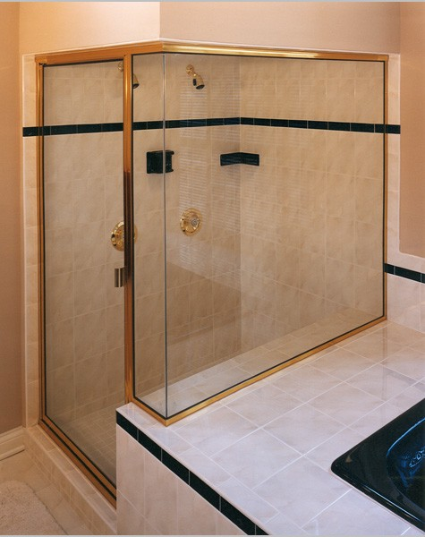Semi Frameless Shower Doors Creative Mirror Amp Shower