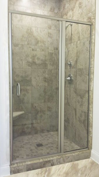 Semi Frameless Shower Doors Creative Mirror Amp Shower