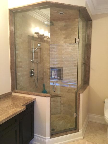Neo Angle   Creative Mirror & Shower
