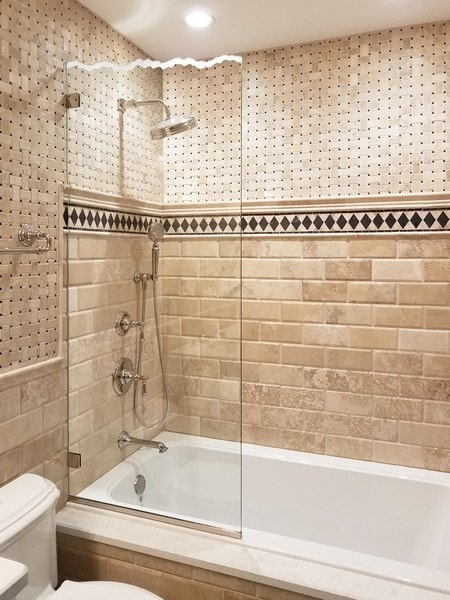 Chicago Glass Frameless Shower Shields