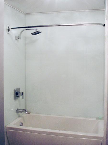 Shower Walls Creative Mirror Amp Shower