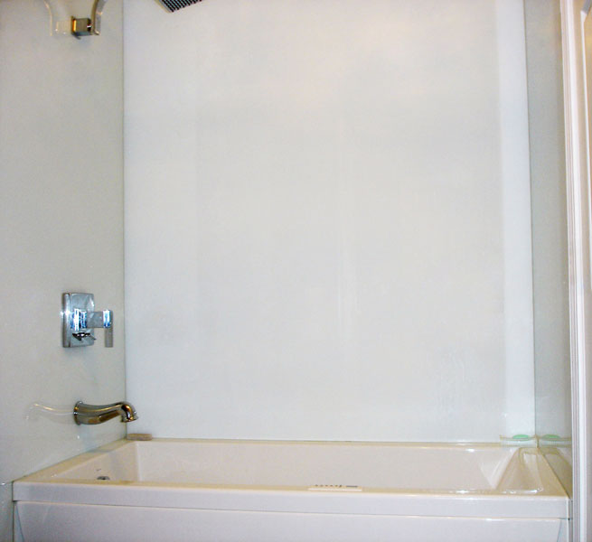 Back Painted Glass Shower Walls