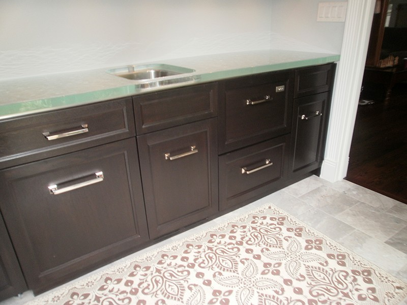 Back Painted Glass Countertops