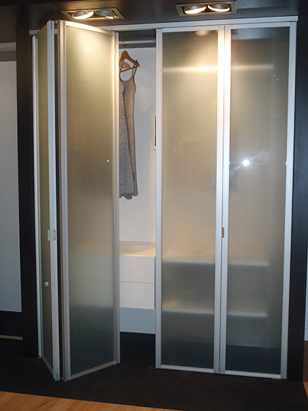 Delightful View Larger Image · Sliding Glass Bifold Closet Doors