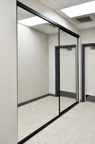 Sliding Mirrored Closet Doors